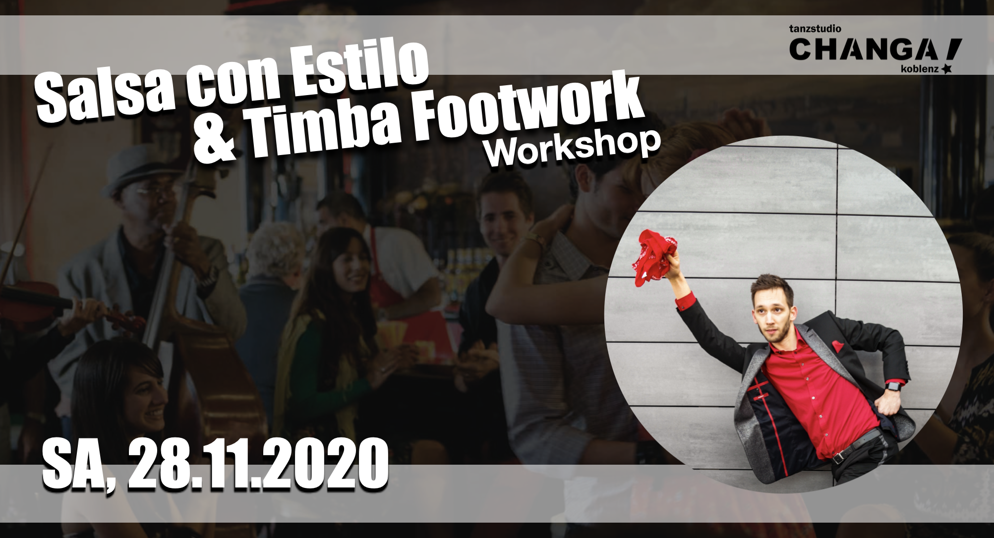 Salsa & Timba Workshop mit Luis Duarte